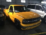 Photo 02 chevrolet silverado auto daul cab yellow...